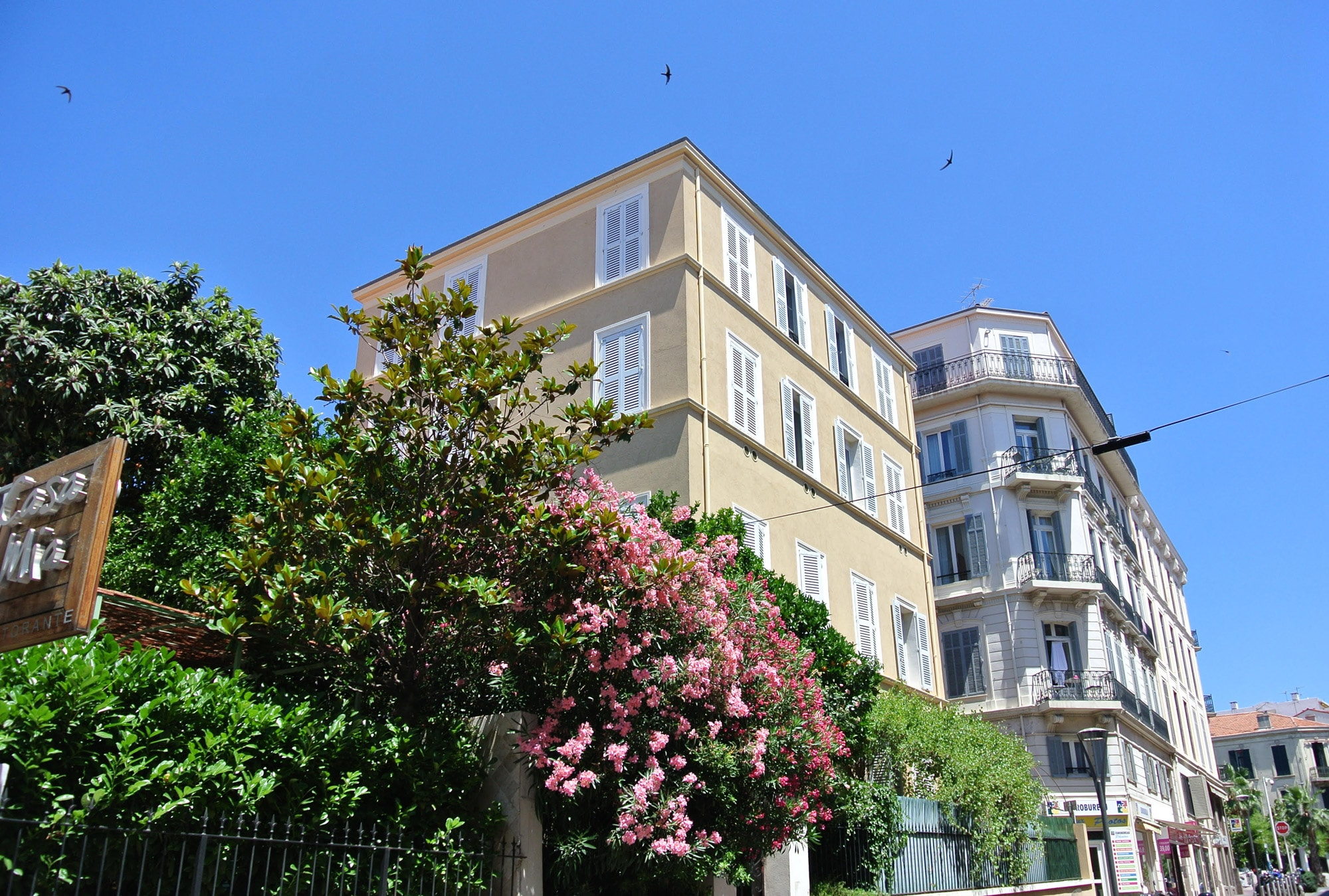 Villa marceau en plein cente de Cannes