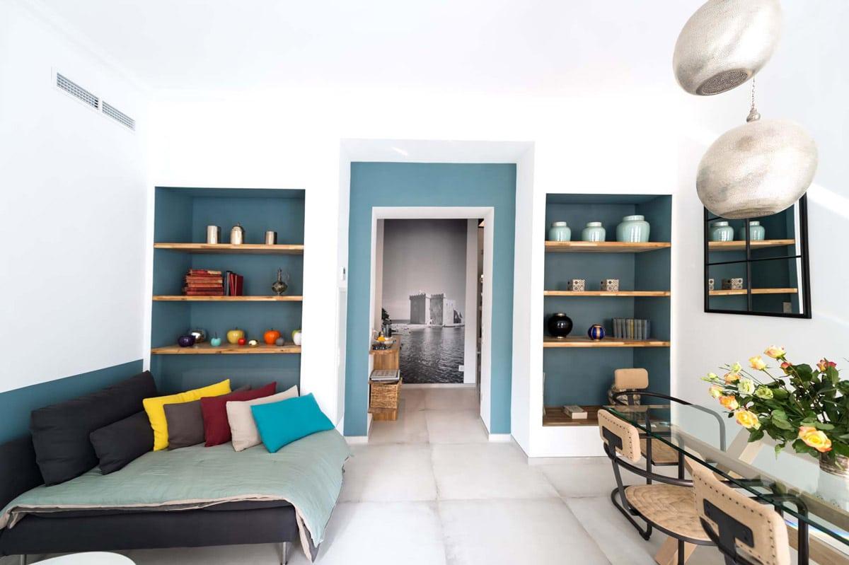 La villa marceau louer un appartement avec terrasse au for Appartement design cannes
