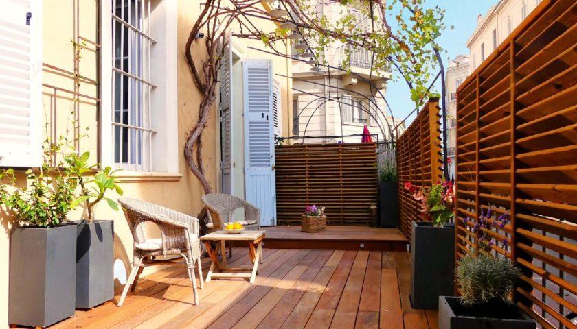 Terrasse appartement Cannes - Villa Marceau